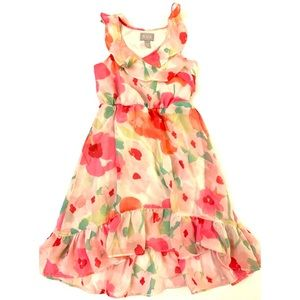 The Children's Place Floral High aloe Dress